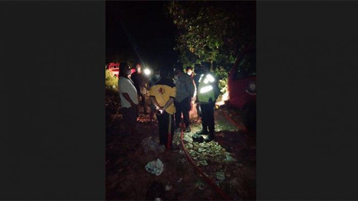 Kebakaran Sampah di TPS Desa Culik Bali, Warga Tergganggu karena Asap & Debu Berhembus ke Permukiman