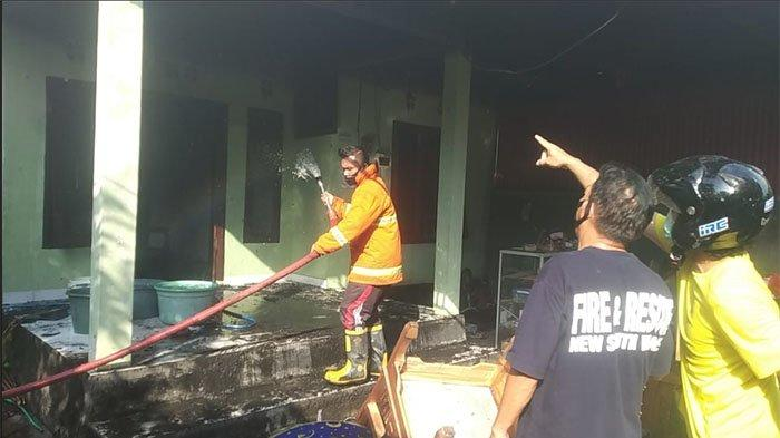 Ditinggal ke Gereja, Rumah Luh Suseni di Dusun Munduk Buleleng Ludes Terbakar