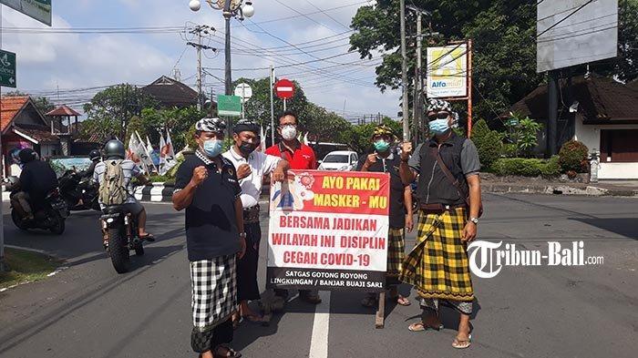 Suka Duka Petugas PPKM Banjar Buaji Sari Sumerta Denpasar, Kehujanan hingga Diremehkan