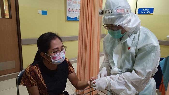 Ribuan Pegawai & Tenaga Medis RSD Mangusada Badung Lakukan Rapid Test