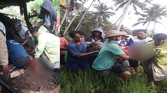 Bencana Melanda Wilayah Bali, Satu Tewas Tertimbun Longsor di Karangasem & Satu Hilang di Sungai