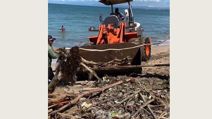 Kini Terpantau Aman,Biasanya Berton-ton Sampah Kiriman Sudah Sampai di Bibir Pantai Badung