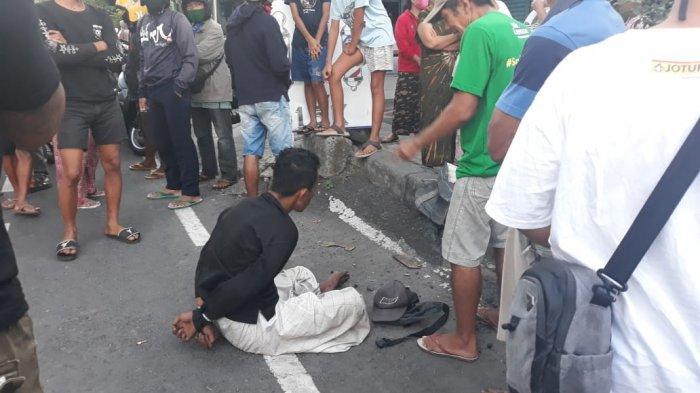Petugas Kebersihan DLHK Denpasar Dipukul Besi di Jalan A Yani, Sempat Ngoceh Sebelum Serang Ni Luh