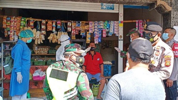 Menolak Di-rapid Test, Pasutri Desa Poh Bergong Buleleng Didatangi Petugas Gabungan
