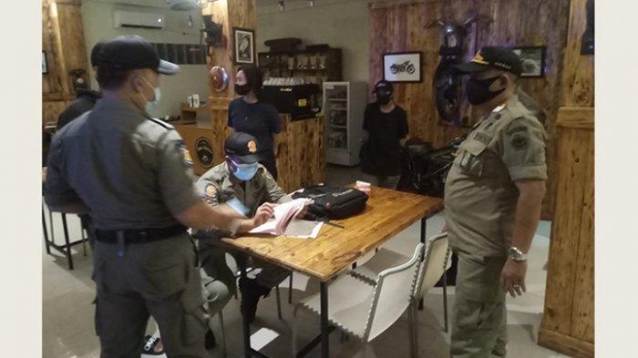 Lalai Timbulkan Kerumunan Saat PPKM Level 3, Pengelola Warung Kopi di Denpasar Dipanggil Satpol PP