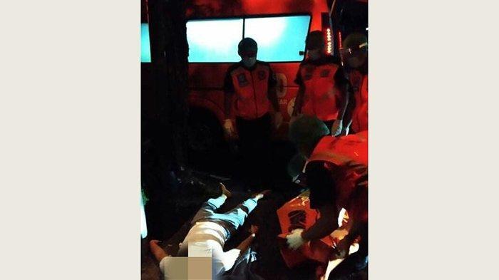 Laka Lantas di Jalan A.Yani Utara Denpasar Dini Hari Tadi, Seorang Pemuda Tewas di TKP