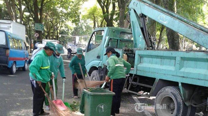 Setelah Galungan Terjadi Peningkatan Sampah di Denpasar Sebanyak 30 Persen