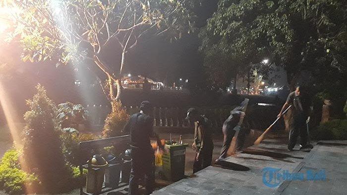 Seusai Perayaan Malam Tahun Baru 2020, Denpasar Hasilkan 1.400 Ton Sampah