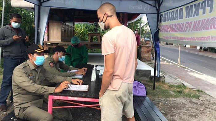 Banyak WNA Tak Taat Aturan PPKM Darurat, Polres Badung Tambah Titik Penyekatan di Simpang Canggu