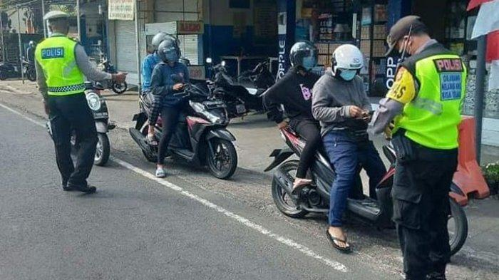Masyarakat Hafal Jam Rawan, Kini Polsek Ubud Gelar Razia Berkelanjutan