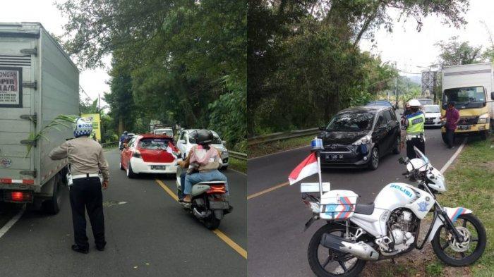 Penumpukan Kendaraan Selalu Terjadi Saat Weekend di Tabanan, Polres Tabanan Siagakan 25 Personel
