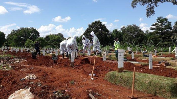 Catat Rekor Baru Pemakaman Jenazah Pasien Covid-19 di Jakarta, Sehari TPU Ini Makamkan 40 Jenazah