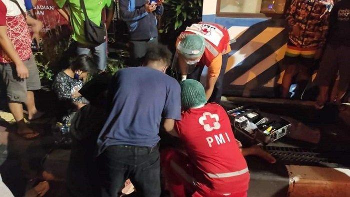Laka Lantas Terjadi di Denpasar, Tiga Orang Alami Luka Pendarahan Aktif hingga Dicurigai Patah Paha