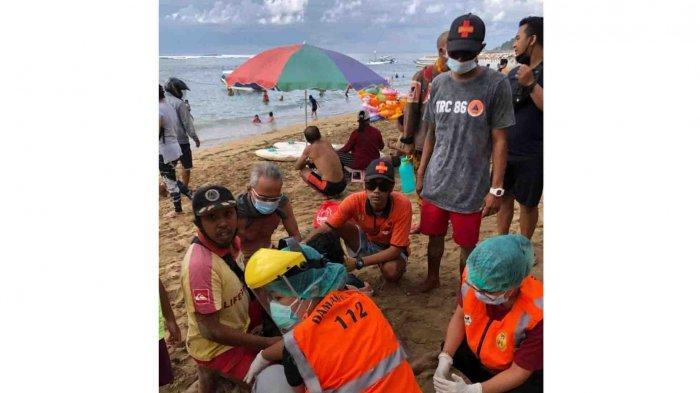 Seorang Pria 40 Tahun Tenggelam di Pantai Segara Ayu Sanur Bali, Miliki Riwayat Epilepsi