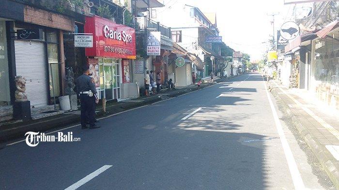 Persiapan Kedatangan Presiden, Kawasan Ubud 'Lock Down' sampai Pukul 15.00 Wita