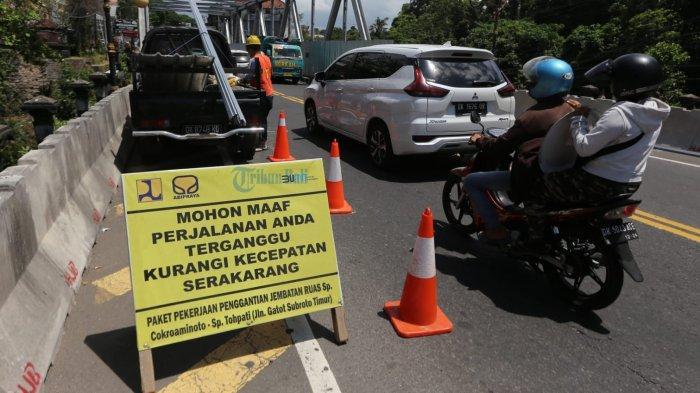Perbaikan Tiga Jembatan di Jalan Gatsu Timur Denpasar, Ini Rencana Pengalihan Lalinnya