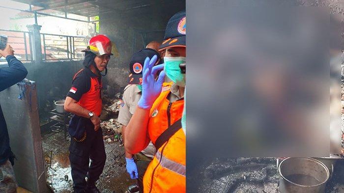 BREAKING NEWS: Terjadi Kebakaran di Jalan Gunung Kapur Denpasar, Satu Orang Tewas Saat Padamkan Api