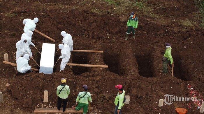 Petugas Pemakaman Jenazah Covid-19 di Karangasem Kewalahan, Perhari Capai Angka 2 Hingga 5 Kasus