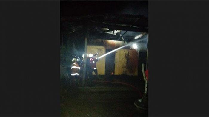 Rumah Nengah Nuaja di Kesimpar Karangasem Ludes Terbakar, Diduga Dipicu Korsleting Listrik