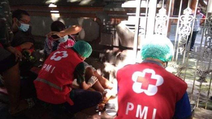 Lakalantas di Depan Hotel Viking Denpasar, 3 Orang Dilarikan ke RSUD Wangaya, 2 Di  Antaranya Lansia