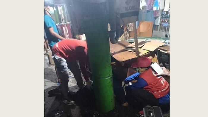Mabuk, Tabrak Tiang Listrik di Jalan Gunung Salak Denpasar,Seorang Pemuda Keluarkan Darah dari Mulut