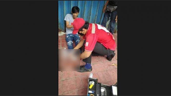 Laka Lantas di Yangbatu Kauh Denpasar, Pemuda 26 Tahun Alami Dislokasi pada Jari Tangannya