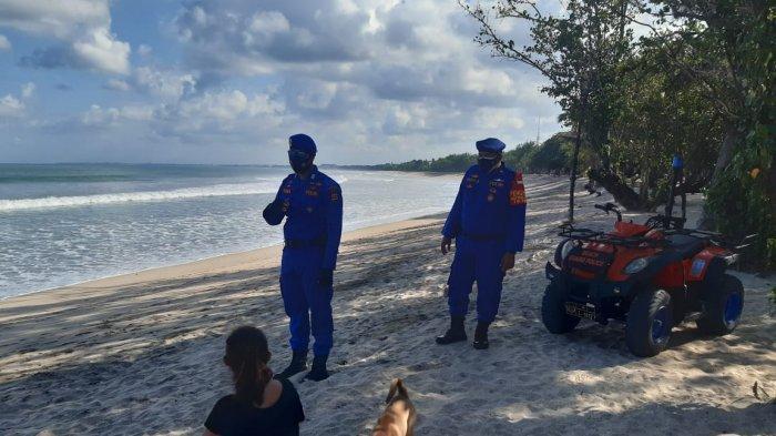 Polair Polresta Denpasar Bersama Unit ATV Polda Bali Gelar Patroli Dengan Menyasar Pantai Nusa Dua