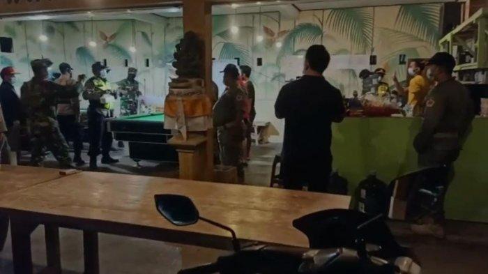 Petugas Prokes Datangi Tempat Biliar di Batubulan Gianyar Bali, Ini Alasannya