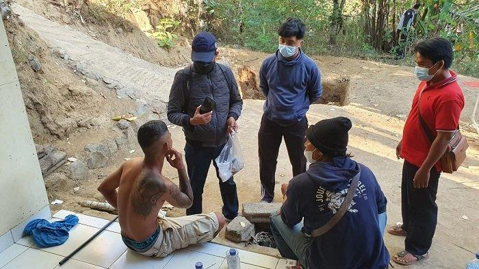 Petani Asal Kubu Diamankan Satreskoba Polres Karangasem