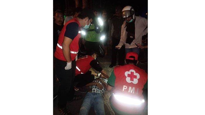 TigaKecelakaan diDenpasar, Salah Satu Korban Alami Luka Robek di Pelipis Kiri