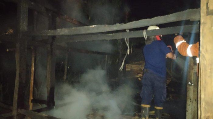 Warga Bau Kawan Karangasem Geger Tengah Malam, Dapur Wayan Peras Hangus Terbakar, Rugi Rp 30 Juta