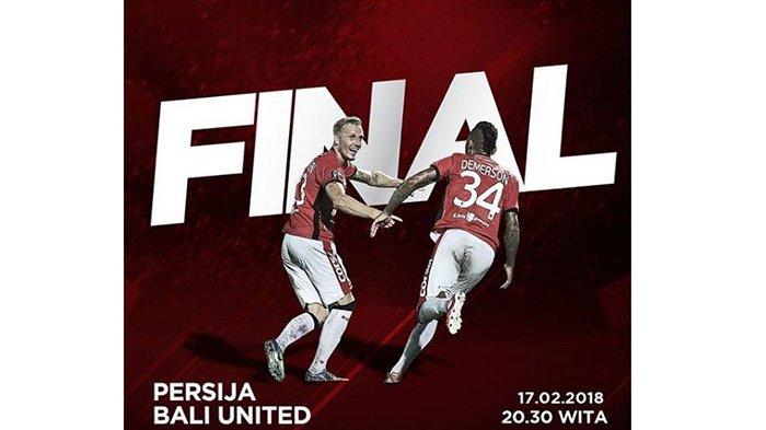 LIVE STREAMING Persija Vs Bali United Pukul 20.30 WITA, 'Awas Ada Marco Super Simic'