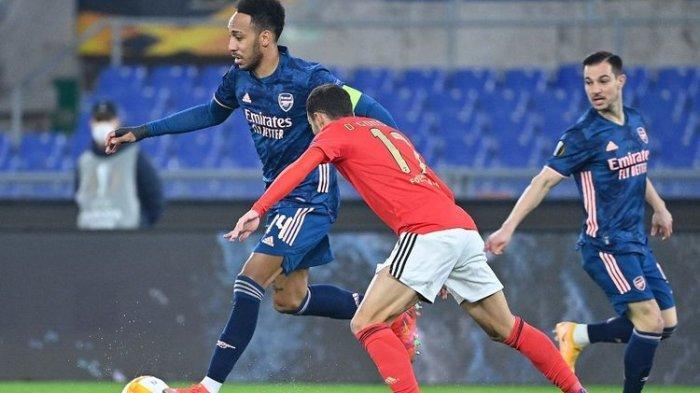 Benfica Vs Arsenal Liga Europa 2020-2021, Gol Bukayo Saka Selamatkan The Gunners dari Kekalahan