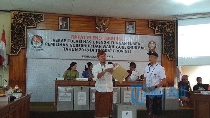 Koster-Ace Sapu Bersih Bali, KPU Gelar Pleno Rekapitulasi Penghitungan Suara