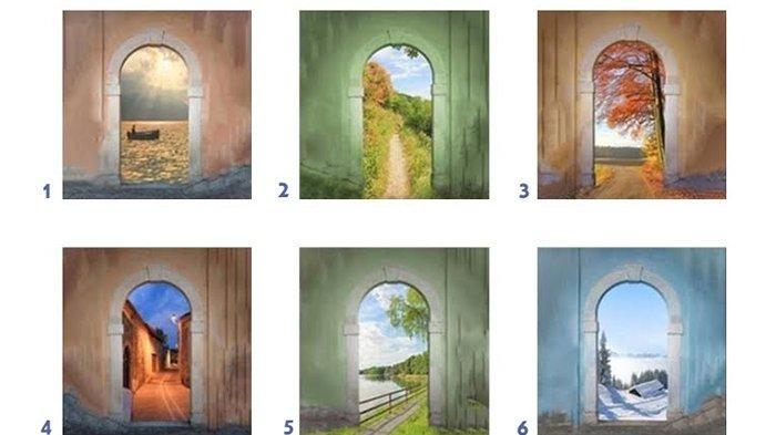 Tes Kepribadian: Karaktermu Tercermin dari Gambar Pintu Pilihanmu, Orang yang Bebas atau Tenang?