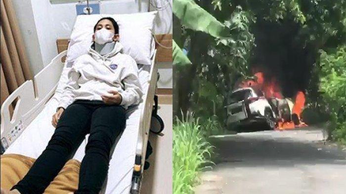 Pilot Athira Farina Kecelakaan di Nusa Penida Bali, Mobil Terbakar Habis, Begini Kronologinya