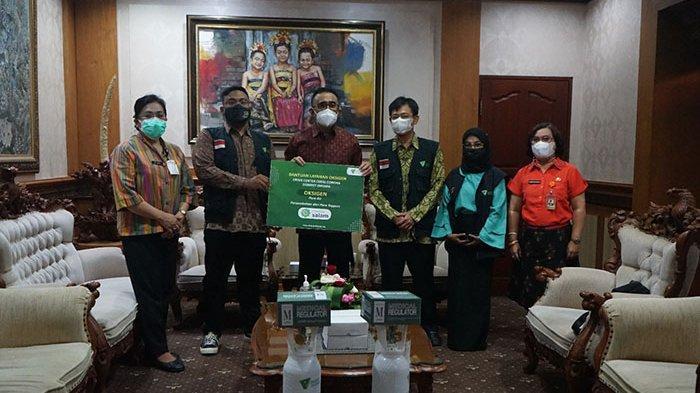 Denpasar Terima Bantuan 44 Tabung Oksigen dan Regulator dari Yayasan Dompet Dhuafa Cabang Bali