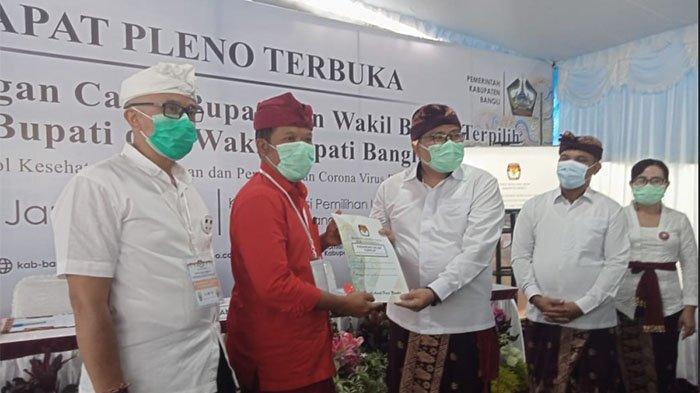 Penetapan Bupati-Wabup Bangli Terpilih Hanya Dihadiri 3 Anggota KPU, Dua Komisioner Positif Covid-19