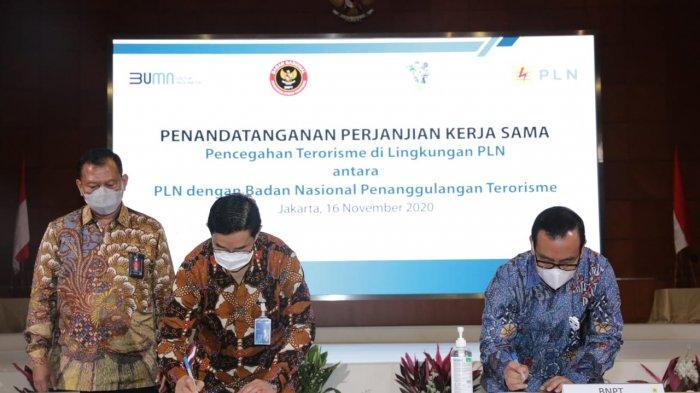 Lindungi Aset Human Capital Korporasi, PLN Gandeng BNPT