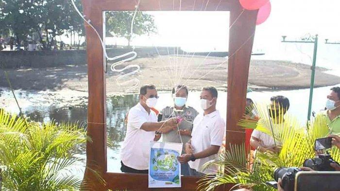 PLN Peduli Serahkan Bantuan Tanggung Jawab Sosial dan Lingkungan (TJSL) di Kampung Bugis Buleleng