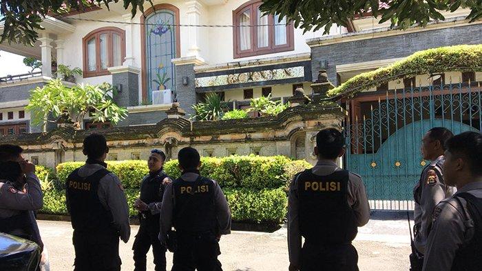 Polda Bali Jaga Ketat Rumah Paslon Pilgub Bali