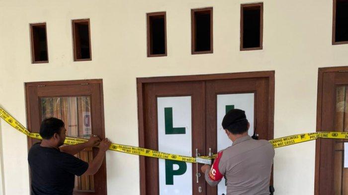Kantor LPD Dawan Klod Disegel Garis Polisi, Nasabah Tetap Ditagih Cicilan