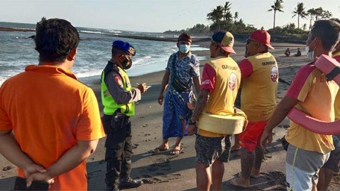BREAKING NEWS:Sadra Terseret Arus Saat Mandi di Pantai Pering Gianyar,Kini Masih Dilakukan Pencarian