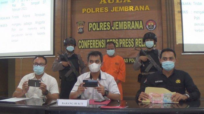 Berdalih Cabut Berkas Perkara, Polisi Gadungan di Jembrana Bali Diringkus