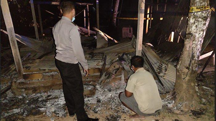 Warung Milik Ni Luh Muliadi di Bangli Ludes Terbakar, Kerugian Capai Puluhan Juta Rupiah