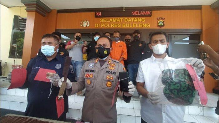 UPDATE Kasus Pembunuhan Pedagang di Buleleng, Pelaku Ngaku Sakit Hati Disuruh Minum Air Got
