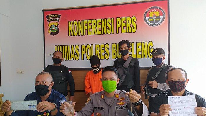 Mencuri Sejak 2019 di TKP yang Sama, Gede Loleng Dijuk Polisi