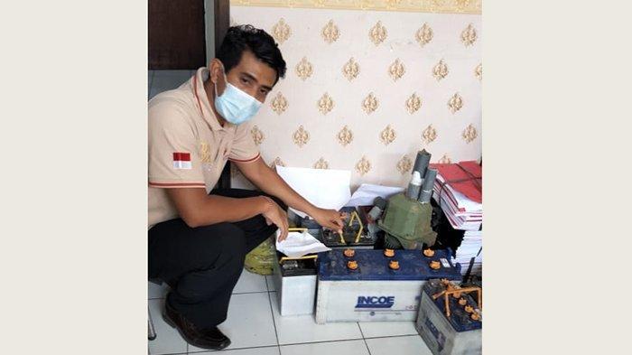 Diteriaki Saat Curi AKI di Bengkel, Pencuri di Gianyar Bali Ini Tinggalkan Sepeda Motornya di TKP