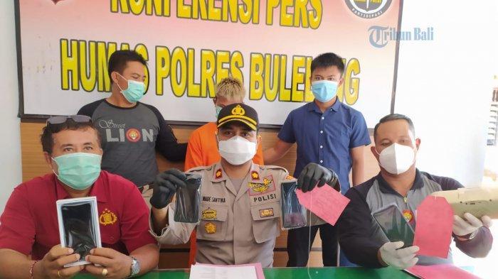Spesialis Pencuri Kos di Buleleng Ditangkap Polisi