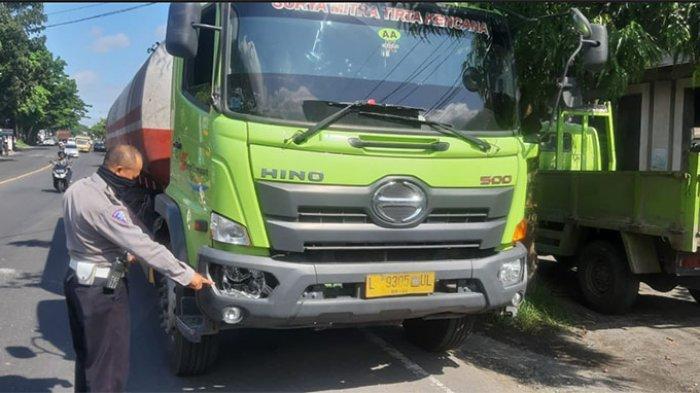 Truk Tronton Seruduk Pedagang Bakso di Bypass Ir Soekarno Tabanan, Nyawa Korban Tak Tertolong